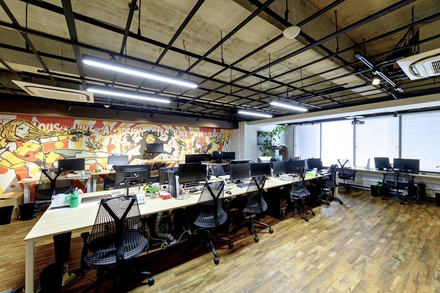 オフィス環境の写真
